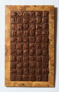 """Item 505 (39cm x 65 cm)   66 (2""""x2"""") ceramic tiles"""